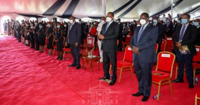 Uhuru leads mourners in sendoff ceremony of Juja Mp Francis Waititu alias Wakapee, promises to help finish projects he initiated