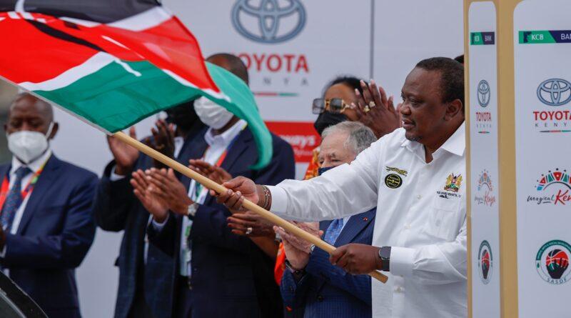 WRC Safari Rally kicks off in Nairobi